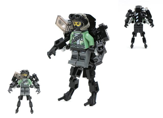 Exo-Skeleton Prototype
