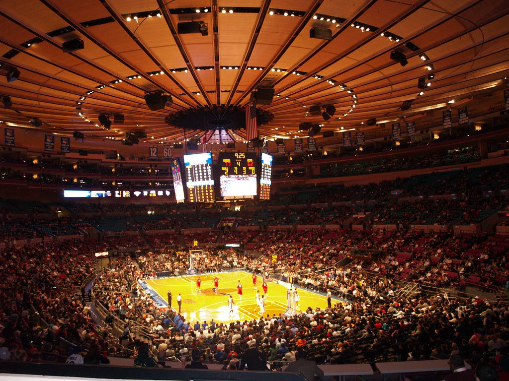 Madison Square Garden Knicks Game | Enrique Burgos | Flickr
