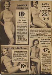 Sears catalogue 1935: underwear, union suits | by genibee