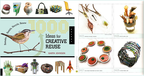 Polymer Clay DiscChic Jewelry | Published in the 1000 Ideas for Creative Reuse Book | by Iris Mishly