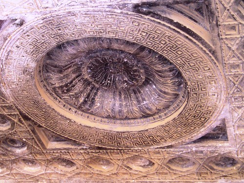 Ceiling rose temple of Bel Palmyra | by Verity Cridland