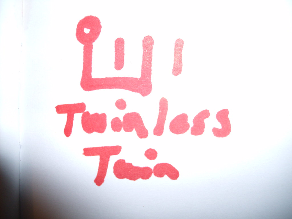 Symbol For Twinless Twin A Person Who Had A Twin Which Did Flickr