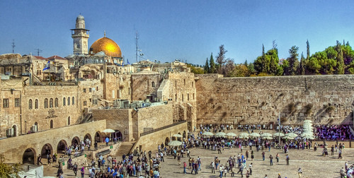 The wailing Wall and the Temple Mount - Jerusalem | by neilalderney123