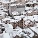 Snowy rooftops Kotor