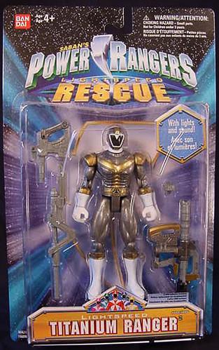 Power Rangers Lightspeed Rescue Titanium Ranger