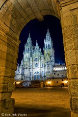 Santiago - Catedral nocturna | by Carlink