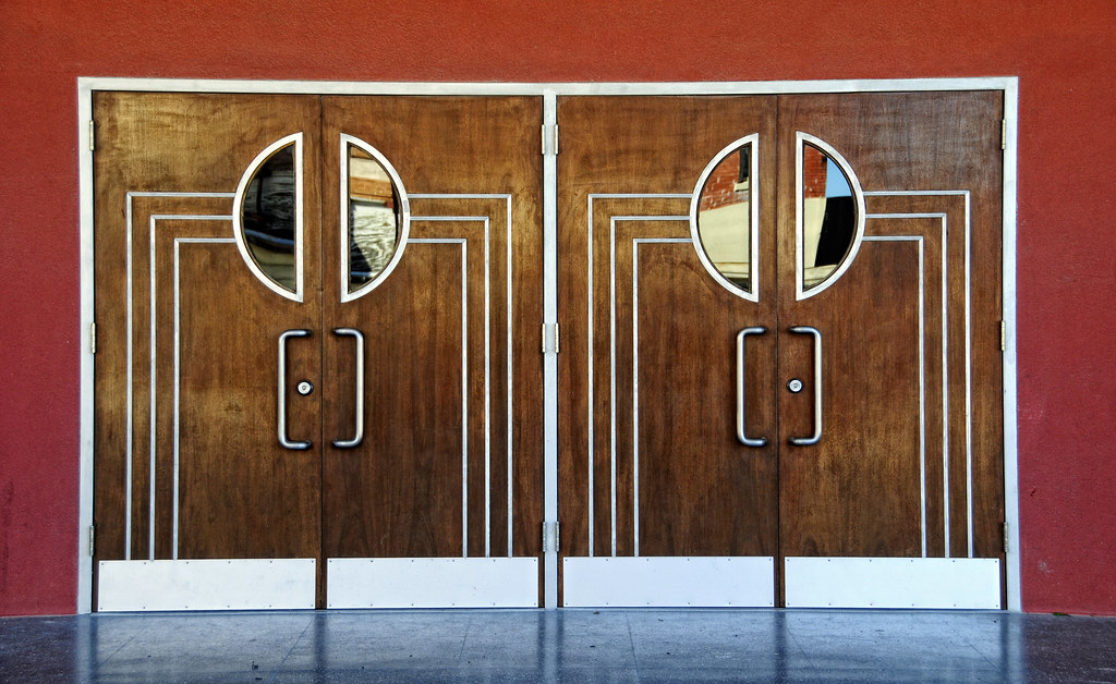 ... movie theater doors | by gail des jardin : theater doors - pezcame.com