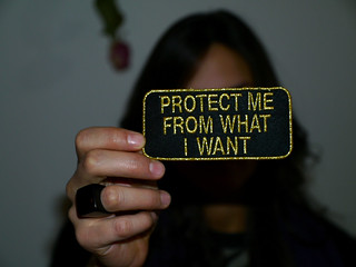 protect me from what I want | by Luca Pedrotti
