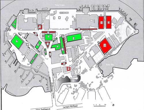 Granville Island February 2010 Parking Map Map of Granvill Flickr