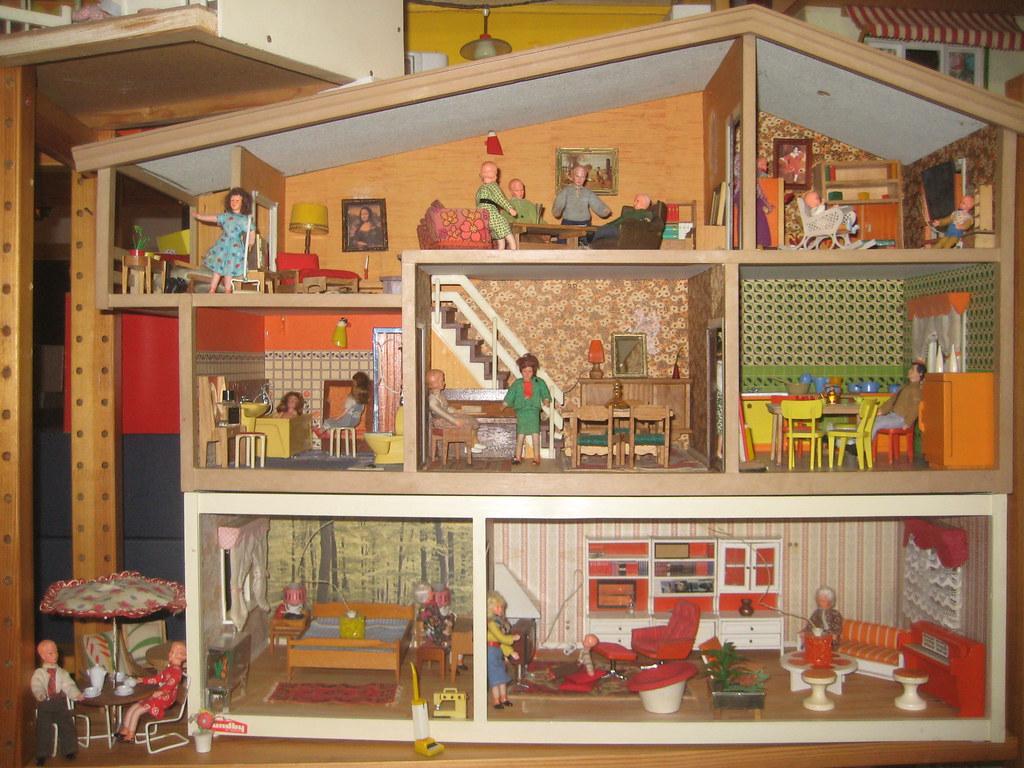 Mein hanse und lundby haus work in progress oben im - Maison de poupee lundby ...
