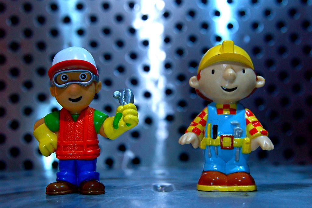 Bob The Builder Face Paint