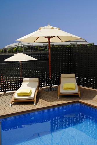 Swimming pool confortel auditori barcelona spain flickr - Hotel confortel auditori ...