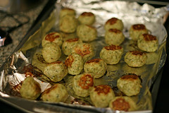 Pesto Turkey Meatballs | by Sarah :: Sarah's Cucina Bella