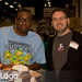 Black Nerd and Rob Welkner at Anaheim Wizard World 2010