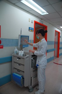 Wireless Nursing Carts | by Cisco Pics