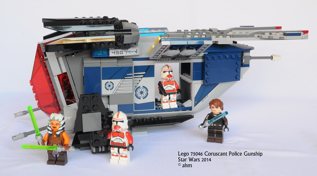 Star Wars Lego 75046 Coruscant Police Gunship | Star Wars ...