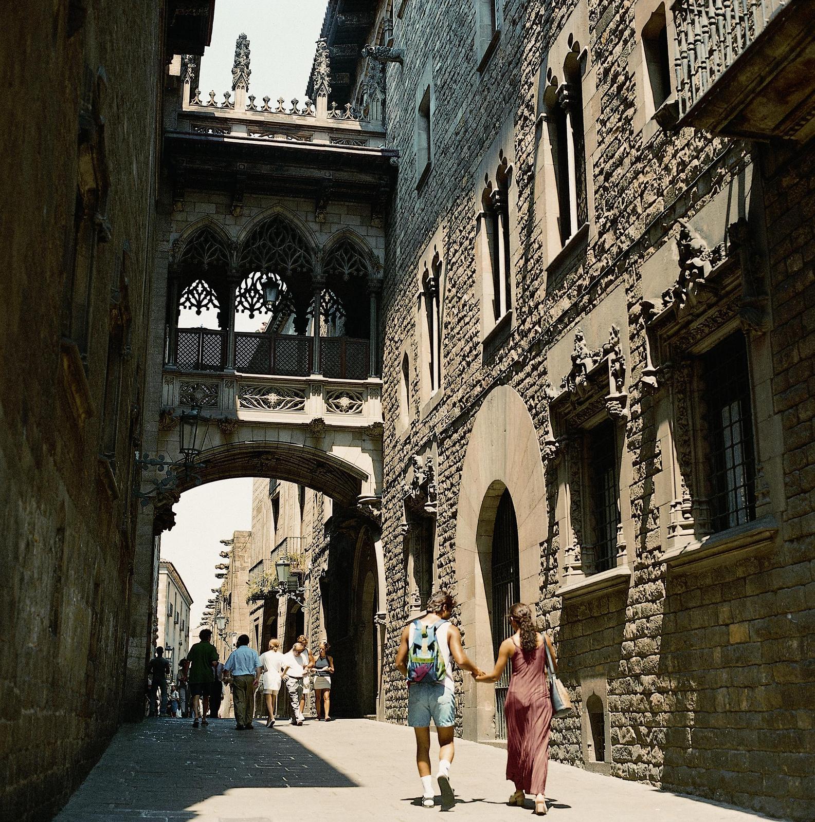 Barrio Gotico. An Unusual Way to Explore Barcelona
