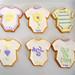 Baby Onesie Sugar Cookies