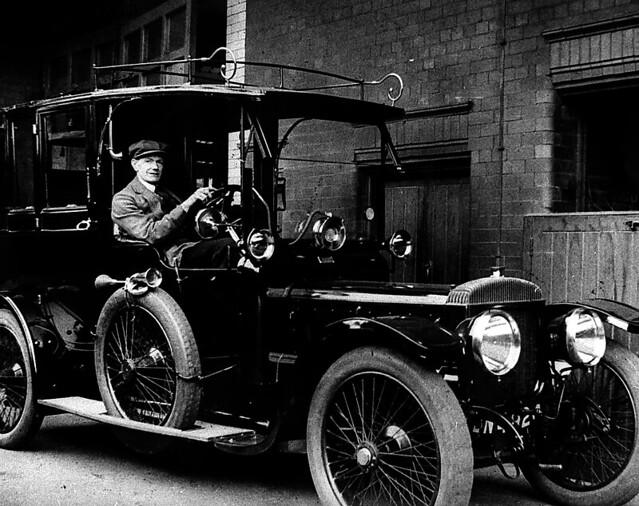 Not Non Violence >> First Police Car | The first car in police use on the region… | Flickr