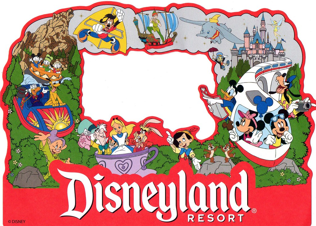Disneyland picture frame | This was part of a scrapbooking k… | Flickr