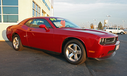 2009 Dodge Challenger Se In Inferno Red Crystal Pearl 5 O