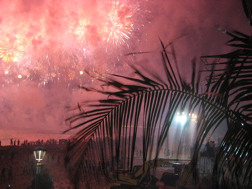 Fortaleza new years fireworks 2010 | by Harry Wood