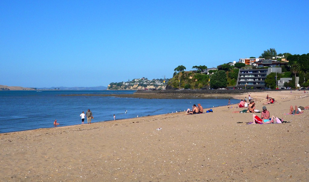 Mission Bay Auckland Quot Mission Bay S Golden Beach Is