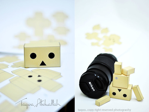 march \ 2010.. is going to be our photography month. Danbo home made | by Taqwa Abduallah..