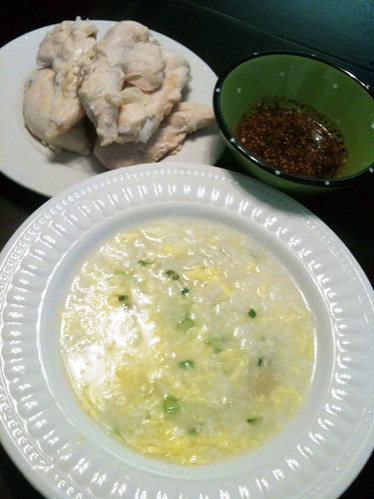 Michelle's chicken porridge (dakjuk) | by maangchi