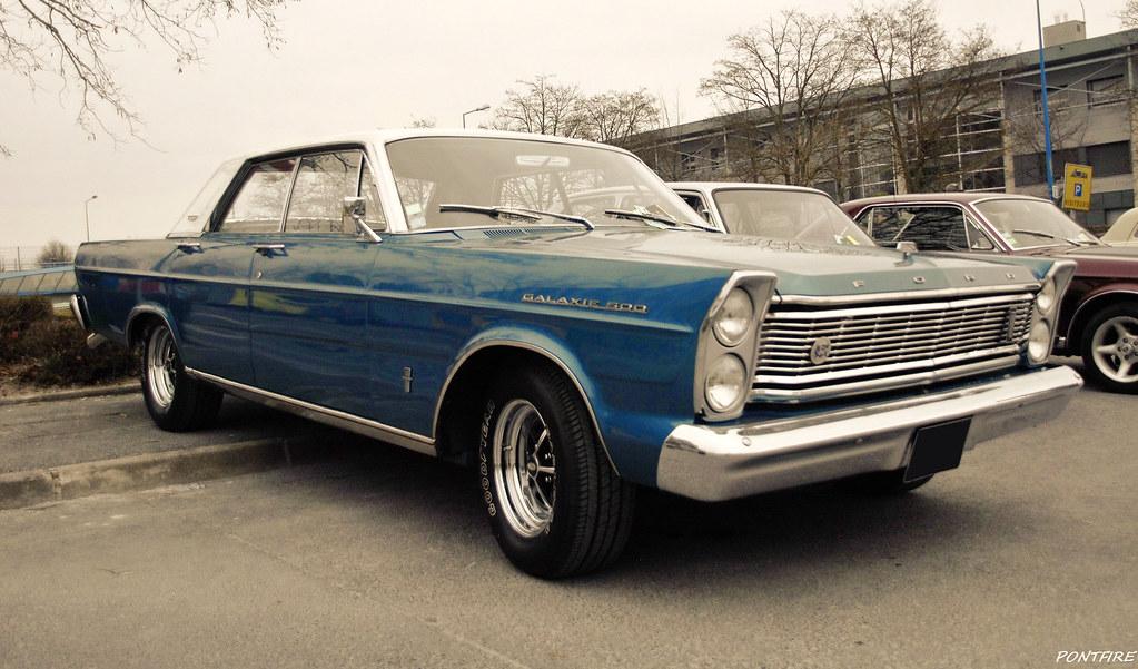 1965 Ford Galaxie 500 4-Door | 23ÈME SALON CHAMPENOIS DU ...  1965 Ford Galax...