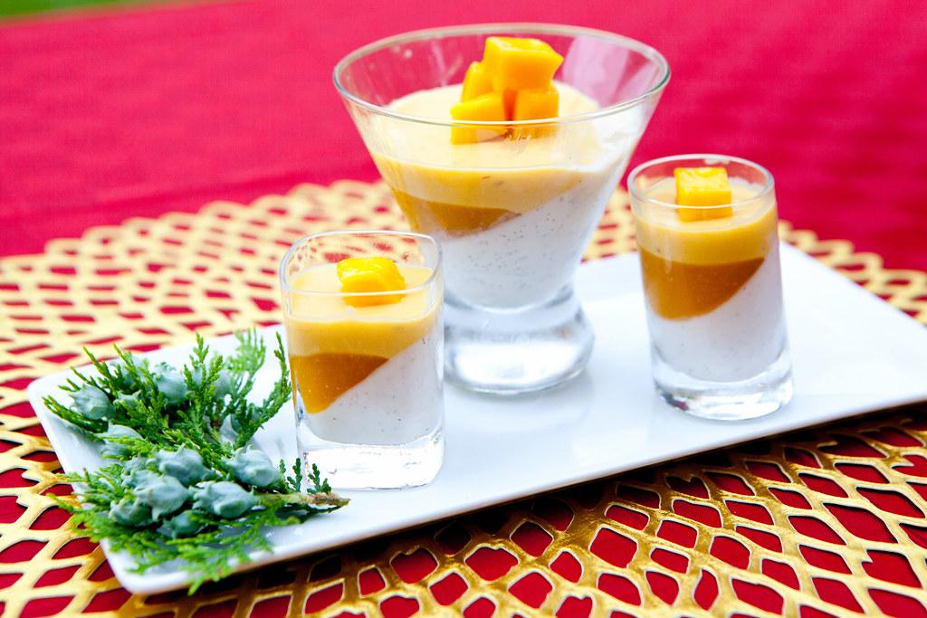 Image result for Vanilla Mango Verrine