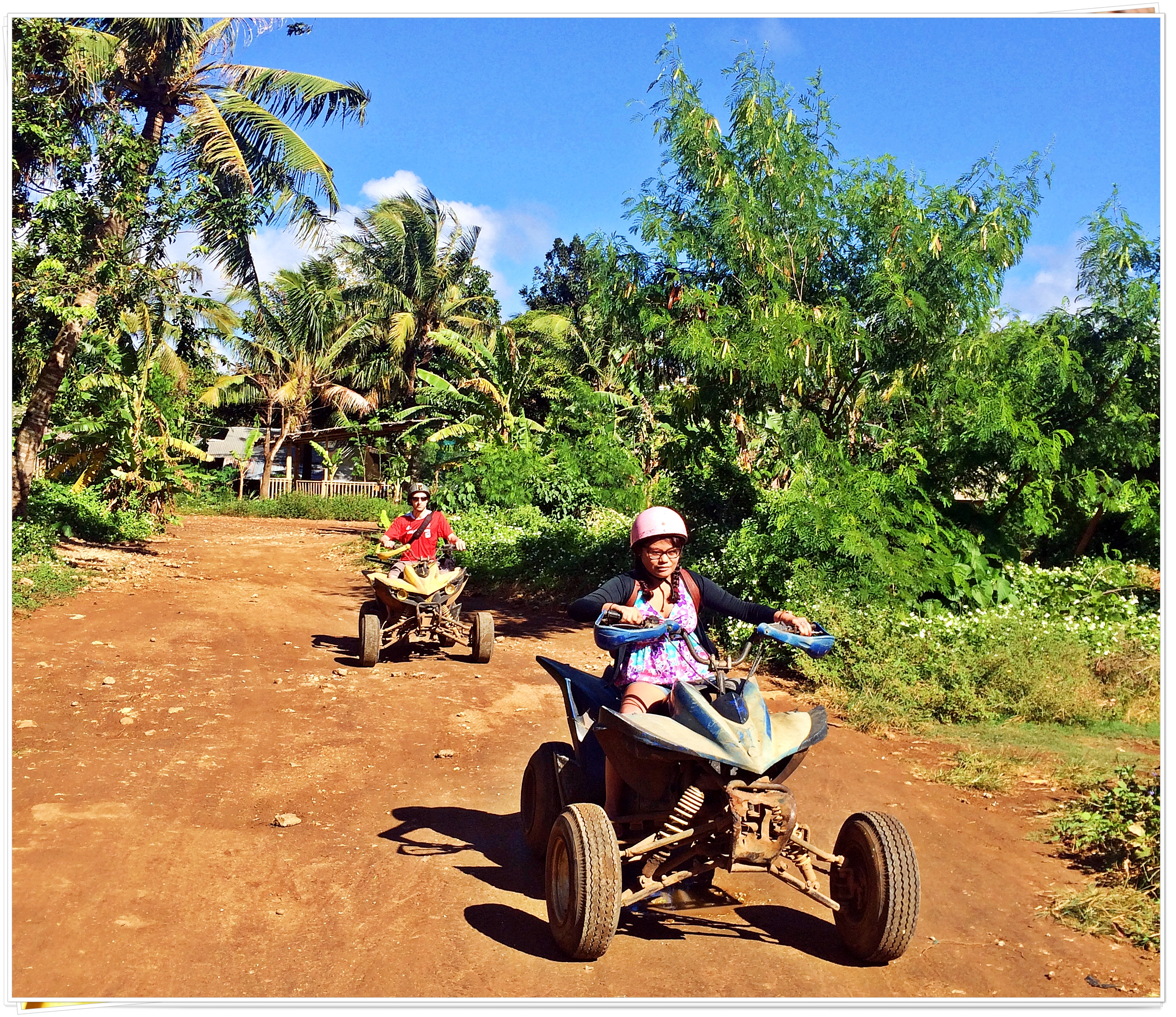 2015 Boracay Aklan Philippines (ATV Riding to Mt. Luho Viewpoint)
