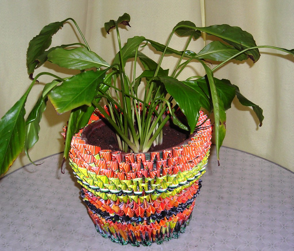 Flower Pot Holder Paper Mache Pls Check It Out For Orders Flickr