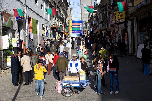 Comercio street - La Paz, Bolivia | Szymon Kochański | Flickr