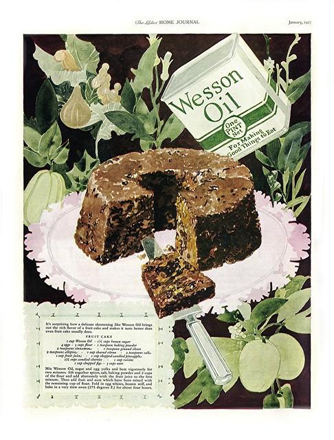Wesson Oil Fruit Cake Recipe