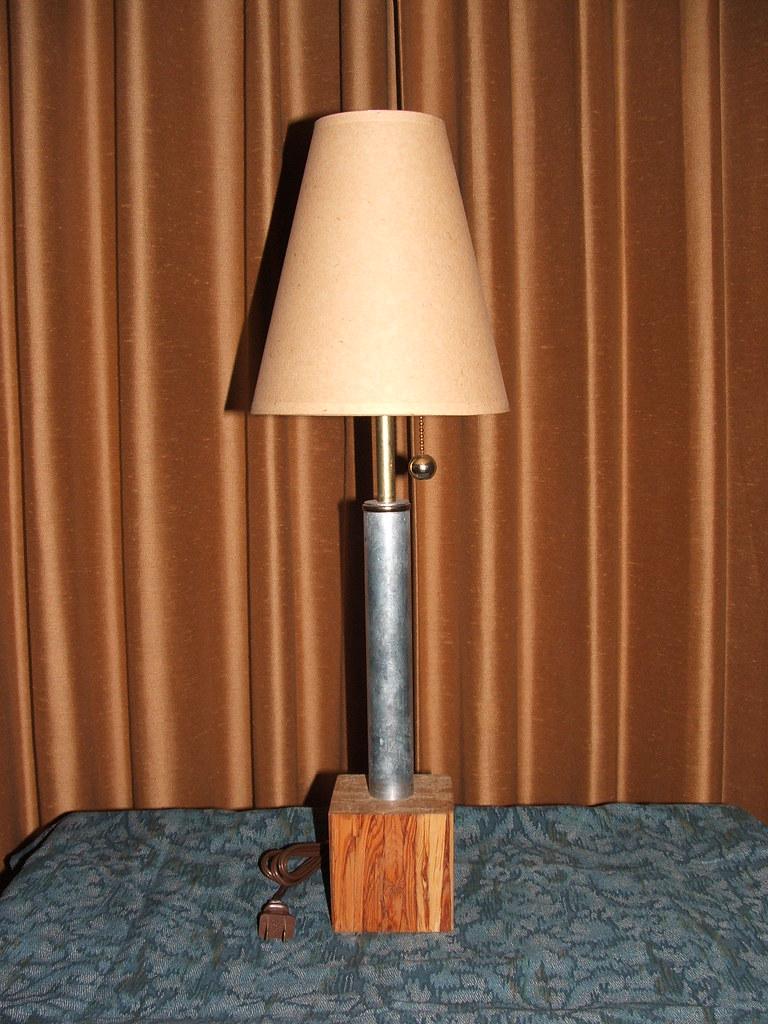 Machine era desk lamp