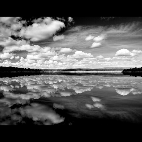 Cloudscape B&W | by Eve Livesey