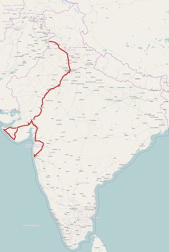 My route in India | by ix4svs