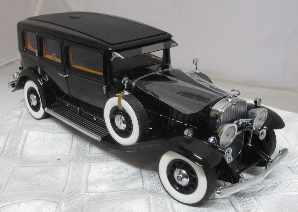 1930 Al Capone's Cadillac V-16 Armoured LWB Imperial Sedan ...