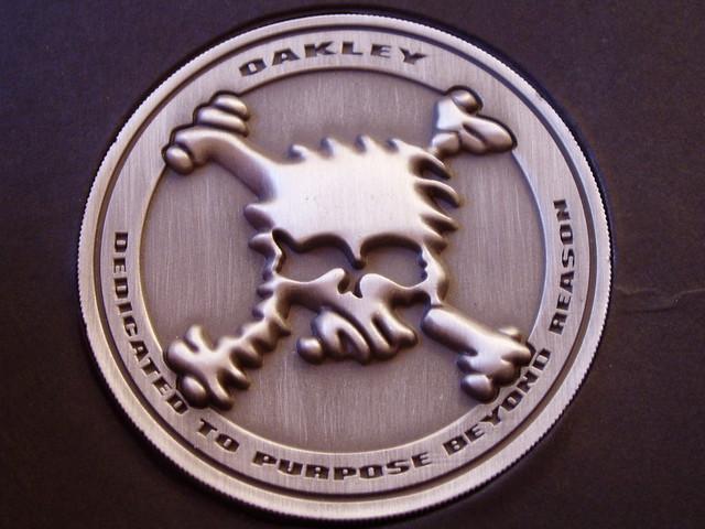 oakley juliet coin