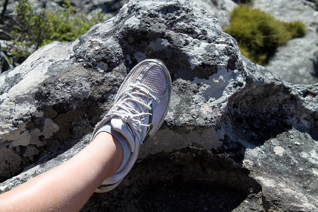 Hiking shoe, Table Mountain