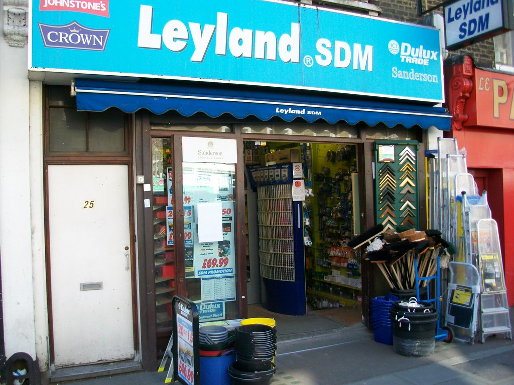 Leyland Paint Shop Near Me Opening Times