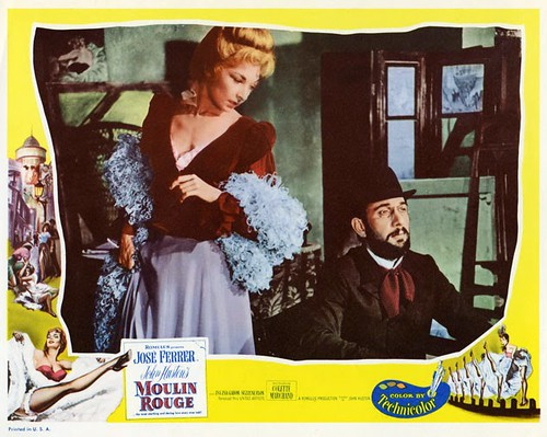 Moulin Rouge - 1952 - lobbycard 3
