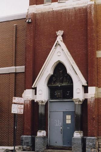 Saint Joseph Redemptorist Catholic Church Main Entrance Fr