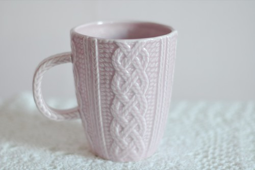 Knitting Pattern For Mug Sweater : My sweet little knitted mug. Found this at Superdrug. I ...