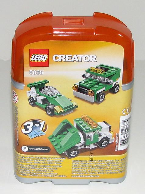 Lego 2010 Creator 5865 Mini Dumper Instructions Packag Flickr