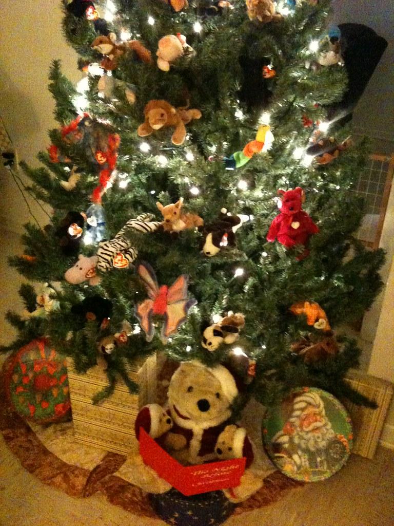 ... Beanie Baby Christmas Tree  acaf93f1972d