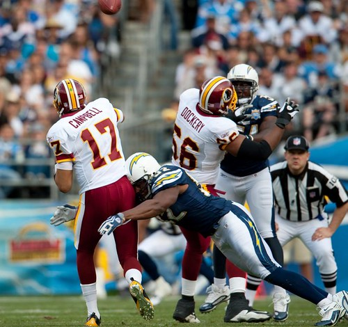 San Diego Chargers Forums: Washington Redskins Vs. San Diego Chargers