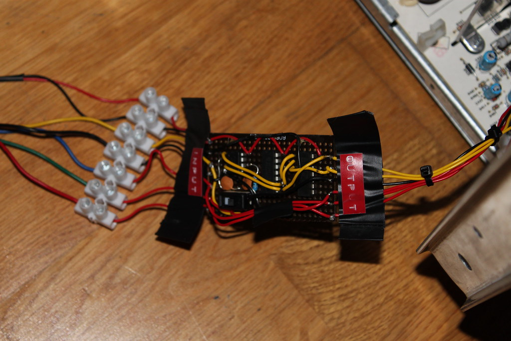 Lm1881 Sync Separator Circuit Due To A Fault My Sanwa Mon Flickr