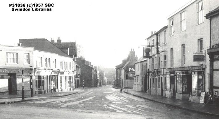 1957 Newport Street In Old Town Swindon Source Scan Of Flickr